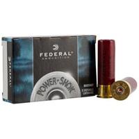"""Federal Power Shok 12GA #4 Buck 3"""" 41 Pellets 5 Rounds"""