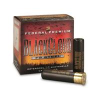 "Federal Prem Black Cloud 12GA #2 Steel Shot 3"" 1-1/4oz 25 Rounds"