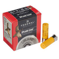 """Federal Upland Game Load 20GA #4 Lead Shot 2-3/4"""" 1oz 25 Rounds"""