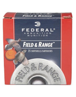 """Federal Field and Range 12GA #8 2-3/4"""" 1oz 25 Rounds"""