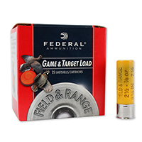 """Federal Upland Game Load 20GA #7.5 Lead Shot 2-3/4"""" 1oz 25 Rounds"""