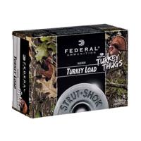 "Federal Strut Shok Turkey Load 20GA #5 Lead Shot 3"" 1-1/4oz 10 Rounds"