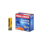 Challenger Shotgun Shells  20 Ga Standard Load 7/8oz #5 10045