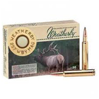 Weatherby CenterFire .300 WBY 200GR Nosler Partition 20 Rounds