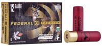 """Federal Trophy Copper 12GA Slug 3"""" 5 Rounds"""