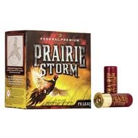 "Federal Prairie Storm 12GA #4 Lead 2-3/4"" 1-1/4oz 25 Rounds"
