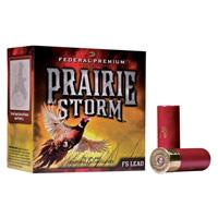 """Federal Prairie Storm 20GA #6 Lead Shot 2-3/4"""" 1oz 25 Rounds"""