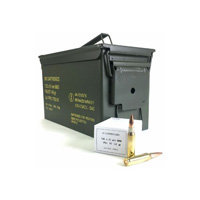 PPU Rifle 7.62x51 NATO 145GR Full Metal Jacket-BT 500 Round Can