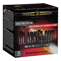 "Federal Black Cloud Steel 3.5"" BBB Shotgun Ammo 12 Ga"