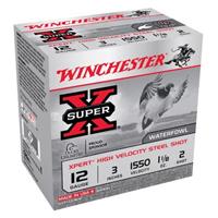 "Winchester Super X Waterfowl 12GA #2 Steel Shot 3"" 1-1/8oz 25 Rounds"
