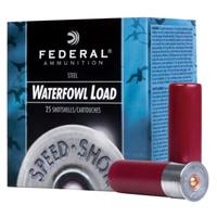 "Federal Power Shok Waterfowl 12GA #2 Steel 2-3/4"" 1-1/8oz 25 Rounds"