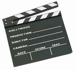 large director s clapboard