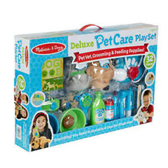 DELUXE PET CARE PLAYSET
