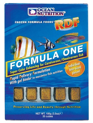 OCEAN NUTRITION FORMULA ONE FROZEN FOOD, 3.5OZ CUBES