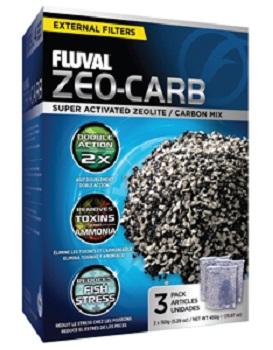 FLUVAL ZEO CARB 150 GR 3 PACK