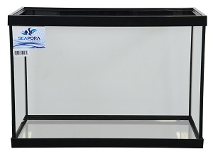 SEAPORA 20 GALLON TANK 24x12x16, BLACK