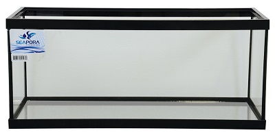 SEAPORA 20 GALLON LONG TANK 30x12X12, BLACK