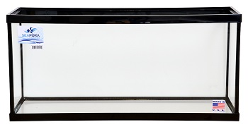 SEAPORA 30 GALLON TANK 36x12x16, BLACK