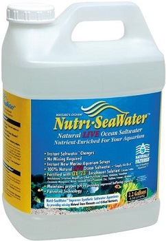 LIVE NUTRI SEAWATER 2.2 GAL