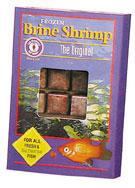 SAN FRANCISCO BAY BRAND FROZEN BRINE SHRIMP CUBES, 1.75OZ