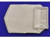4x7x15 SQUARE PLASTIC RIMMED BAG