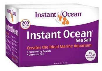 INSTANT OCEAN 200 GAL BOX