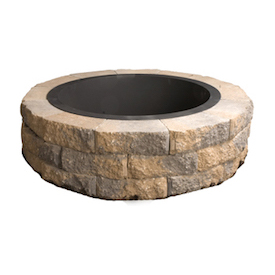 Outdoor Fire Pit Round Earth Bln