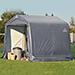 (e) Shelter 8x8x8 Shed Peak Grey