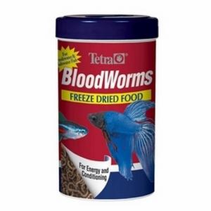 Tetra Freeze Dried BloodWorms - .28 oz