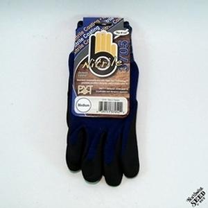 Bellingham Md Plied-Nitrile Palm Blue Glove