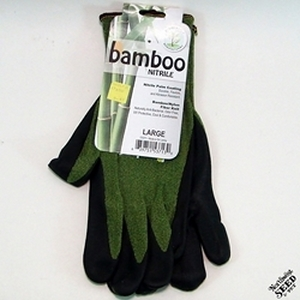 Bellingham Lg. Bamboo-Nitrile Palm Coating Green