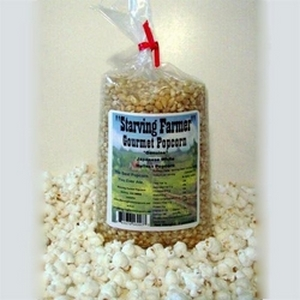 Starving Farmer 2 lb Japanese Hulless Popcorn