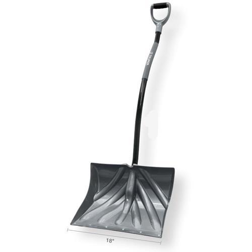 Truper Combo Ergonomic Snow ShovelD-Grip - 18in
