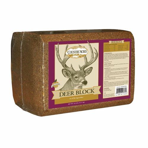 33.3lb Purina/Country Acres Deer Block