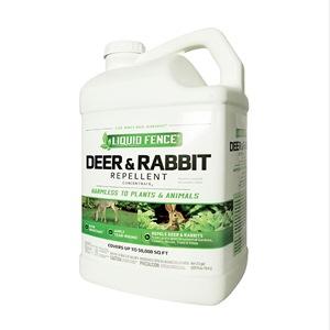 Liquid Fence 1 gal Deer and Rabbit Repellent Conce