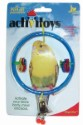 JW ActiviToy Ring Clear Bird Toy Small/Medium
