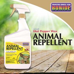 Bonide 1 qt Hot Pepper Wax Animal Repellent RTU