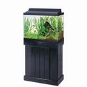 Aqueon Pine Aquarium Stand - Black - 24 in