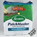 Scott's Patchmaster Lawn Repair Sun/Shade Mix - 100 sq. ft.