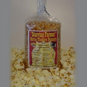 Starving Farmer 2 lb Movie Theatre Popcorn