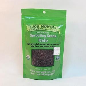 Organic Sprouting Kale Seed - 3oz