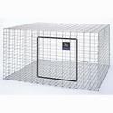 Pet Lodge Rabbit Hutch 30x30x16