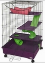 Super Pet My First Home Deluxe 2X2 Multi Level with Casters