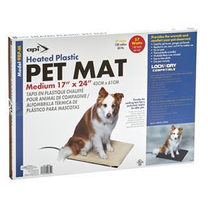 98PM Md Heated Plastic Mat   API
