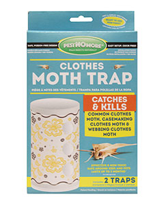pestNOmore Clothes Moth Cylinder Trap 2/pk