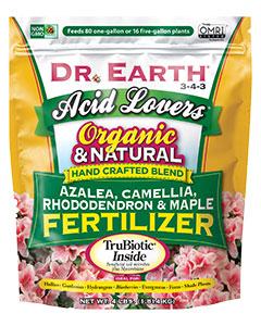 Dr  Earth Azalea, Camellia & Rhododendron (4-5-4) 4# poly