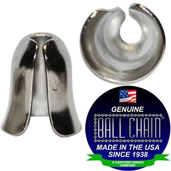 BALL CHAIN BELL PDNT 6-P NICKEL
