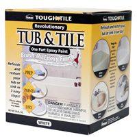 TUB & TILE BRUSH FINISH WHITE