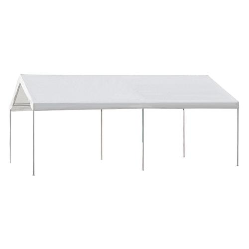 TENT 10X20 CANOPY WHITE W/HDWE