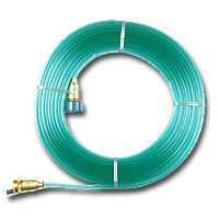 Gilmour 27142 50-Foot 3-Tube Flat Sprinkler and Soaker Hose, Green